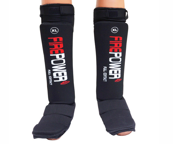 Защита ног подростковая (Чулки) Firepower FPSGE7 Черная