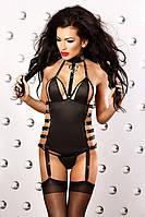 Эротичный корсет с подвязками Lolitta Impression Лолита Импрешн corset S/M, L/XL полиэстер