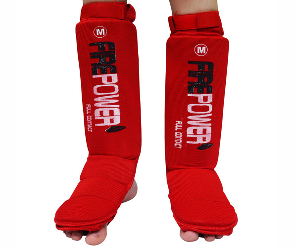 Защита ног подростковая (Чулки) Firepower FPSGE7 Красная