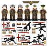 Фигурки военные, Отряд Немецких штурмовых Войск, World of War II, военный конструктор, BrickArms