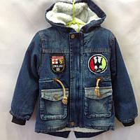 Джинсовая куртка для мальчика 4-7 лет