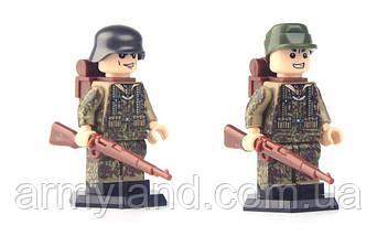 Фигурки военные, Отряд Немецких штурмовых Войск, World of War II, военный конструктор, BrickArms, фото 3