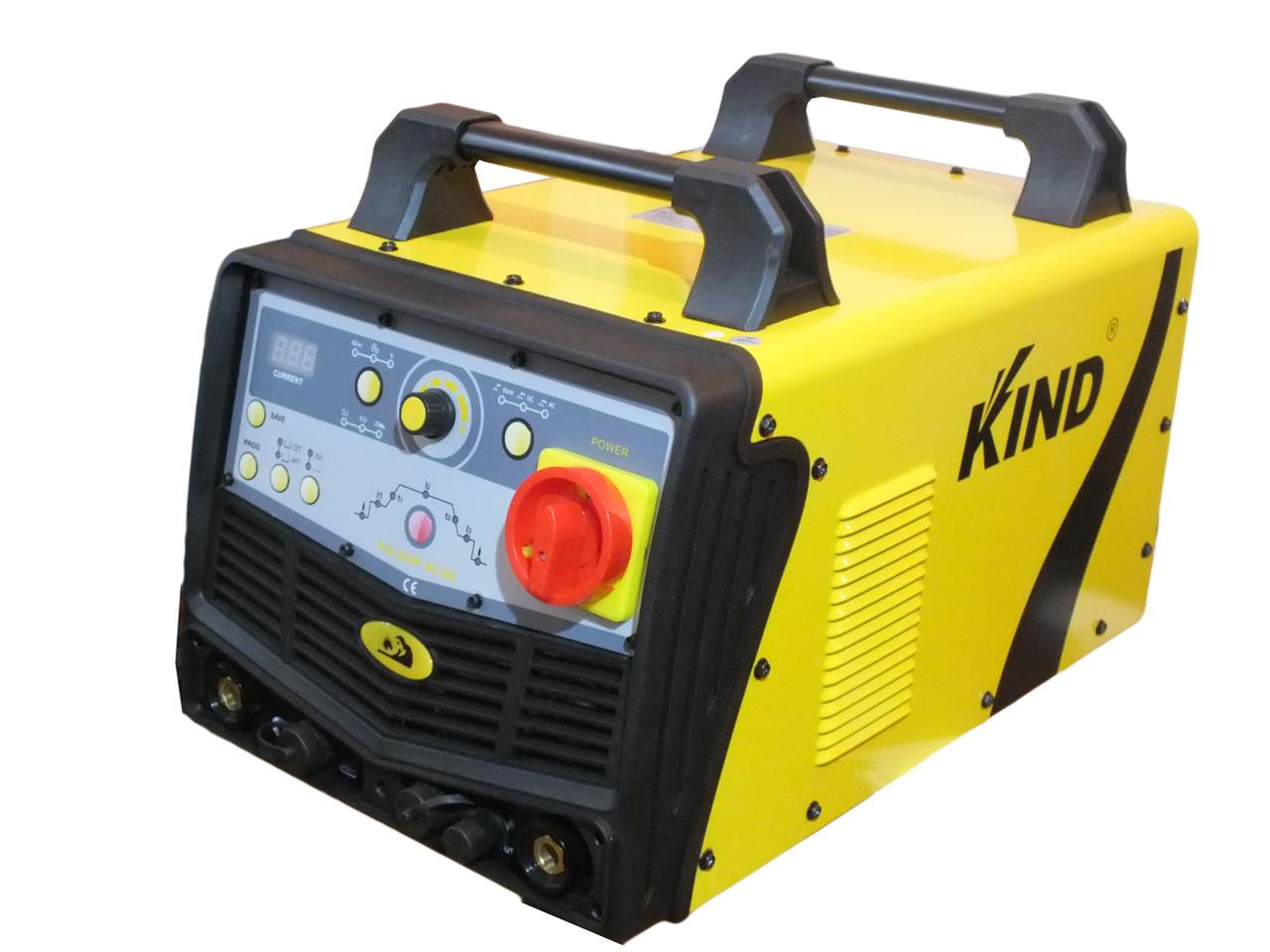 Универсальная аргонодуговая установка KIND TIG 200 P  AC/DC