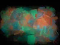 Флок! Акриловые и флуоресцентные флоки - чипсы полимерные, люминофор.