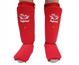 Защита ног (Чулки) Thai Professional SG5 Красная