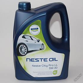 Масло моторное NESTE City Pro LL 5W-30  4 л