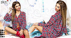 Пижама кофта + шорты