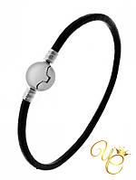 Кожаный браслет для бусин Пандора «Практичный II»