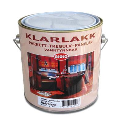 Klarlakk Vanntynnbar 3л,15 шовковисто-матовий