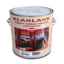 Klarlakk Vanntynnbar 3л,15 шелковисто-матовый