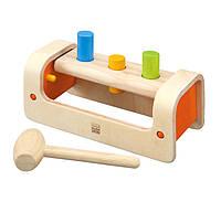 Развивающая игрушка Plan Тoys - Верстак-забивалка