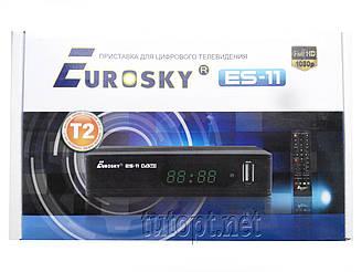 Приставка для цифрового телевидения Т2 Evrosky ES-15(YouTube)