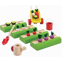 Деревянная игрушка Plan Тoys Огород (9844)