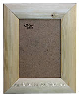 Рамка деревянная закругленная шириной 45мм под покраску. Размер, см.  50*70