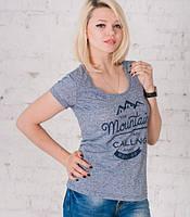 Женская футболка с принтом KETTEN ТМ Bono