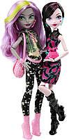 Monster High Welcome to Monster High Monstrous Rivals 2-Pk Dolls Набор Моаника и Дракулаура Эвер Афтер Хай