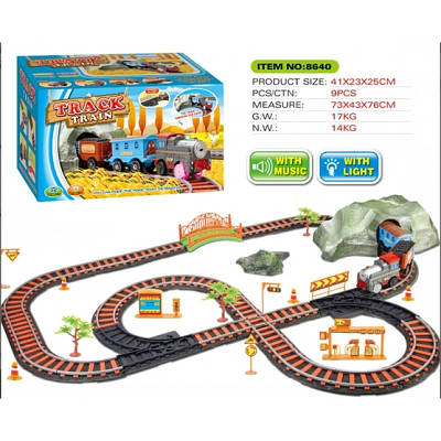 Детская железная дорога с дорожными знаками Дикий Запад