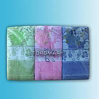"""Махровое полотенце """"Разные"""" - 50*90 см."""