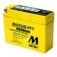 Motobatt MBT4BB Мото акумулятор 5 А/ч, 40 А,  (-/+), 113x38x87 мм