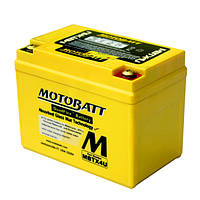 Motobatt MBTX4U Мото акумулятор 4 A/ч, 70 А, (-/+), 114x70x87 мм