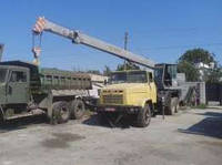 Аренда автокрана КС-3575 КрАЗ-250