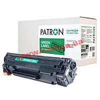 Картридж PATRON HP LJ CB435A/ CANON 712 GREEN Label (PN-35A/712GL)