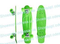 "Пенни борд Penny Board скейтборд/ скейт зеленый 22"", фото 1"