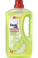 Универсальное средство для всех моющихся поверхностей Denkmit Allzweckreiniger Limetten-Zauber, 1 l