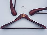 Плечики вешалки тремпеля  Mainetti Kazara B бардового цвета, длина 46 см
