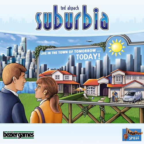 Настольная Игра Bezier Games Suburbia (вкл. Дополнение Suburbia Inc.) (4630018520014)