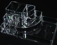 Органайзер подставка прозрачная для косметики, фото 1