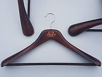 Плечики вешалки тремпеля  Mainetti Kazara L  коричневого цвета, длина 45 см
