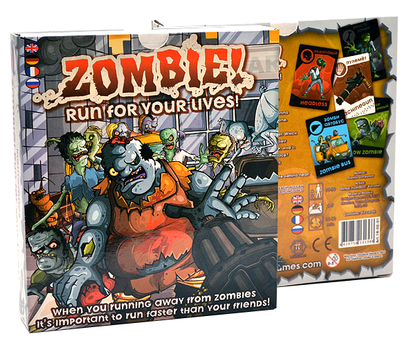 Zombie! Run for You Lives!