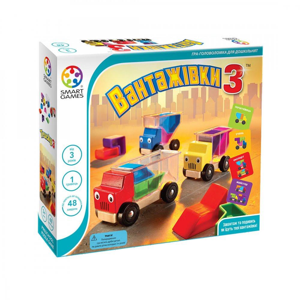 Настольная игра Smart Games Грузовики 3 (SG 035 UKR)
