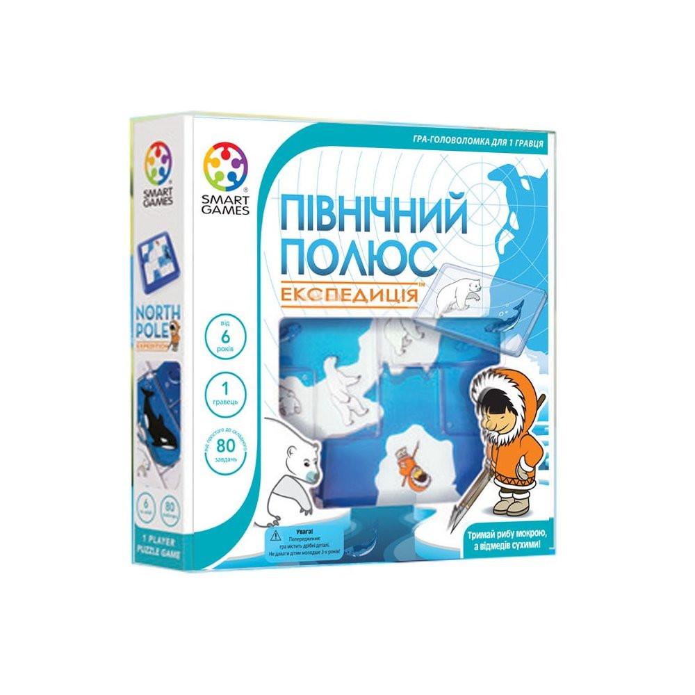 Настольная игра Smart Games Северный полюс. Экспедиция (SG 205 UKR)