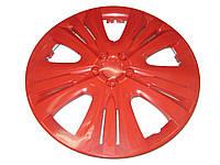 Колпаки на колеса R13 диски для дисков R13 Lux красные колпак