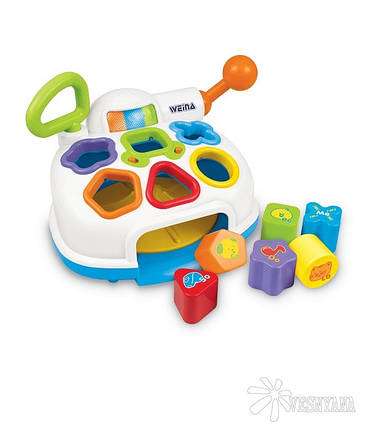 Музыкальная игрушка-сортер Weina (2002), фото 2