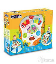 Музыкальный игровой столик Weina 2-в-1 (2137), фото 3