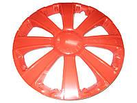 Колпаки на колеса диски для дисков R13 RST красные колпак