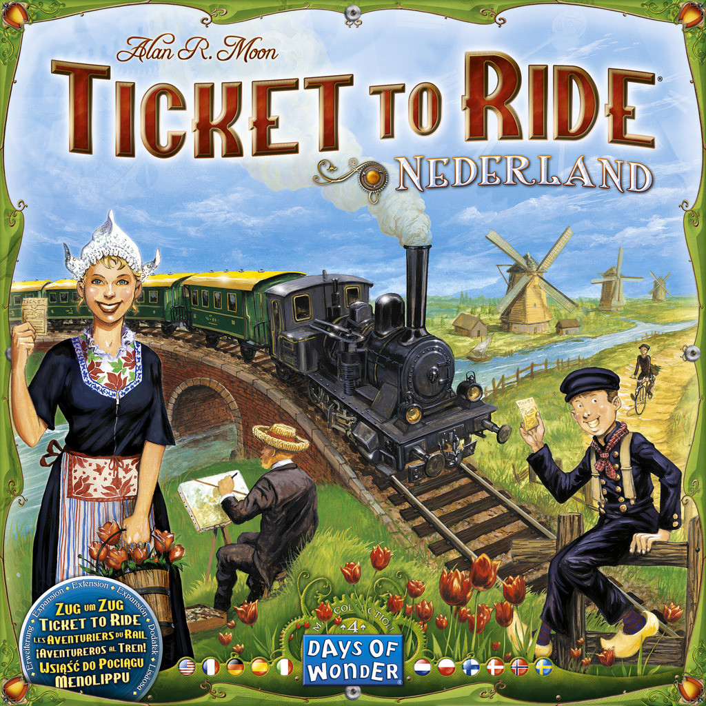 Ticket to Ride - Nederland Maps Collection