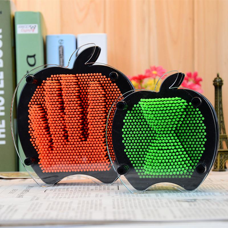 Гвозди Art-pin Яблоко Цветные М, 22х15см