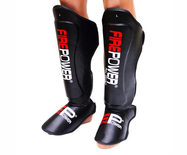 Защита ног (Щитки) Firepower FPSGA8 Черные
