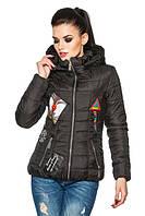 Весенняя стеганная женская куртка, р. 42 - 54