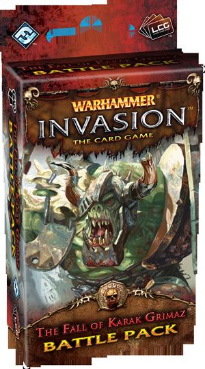 Warhammer: Invasion LCG: The Fall of Karak Grimaz Battle Pack