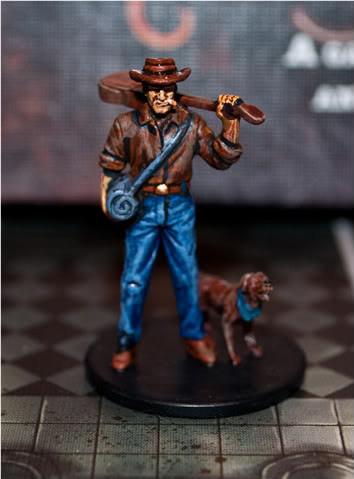 Arkham Horror Investigator Miniatures: Ashcan Pete