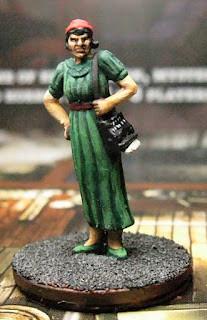 Arkham Horror Investigator Miniatures: Gloria Goldberg