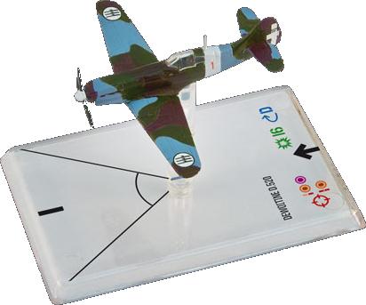 Wings of War WWII: Dewoitine D520 Stella