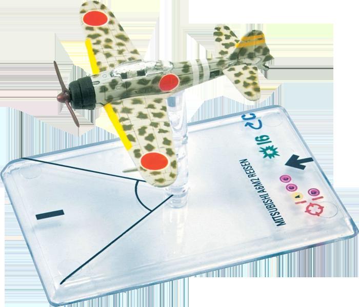 Wings of War WWII: Mitsubishi A6M2 Reisen Shindo (IJNAS)