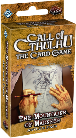Call of Cthulhu LCG: At the Mountains of Madness Asylum Pack