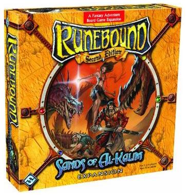 Runebound: Sands of Al-Kalim Expansion